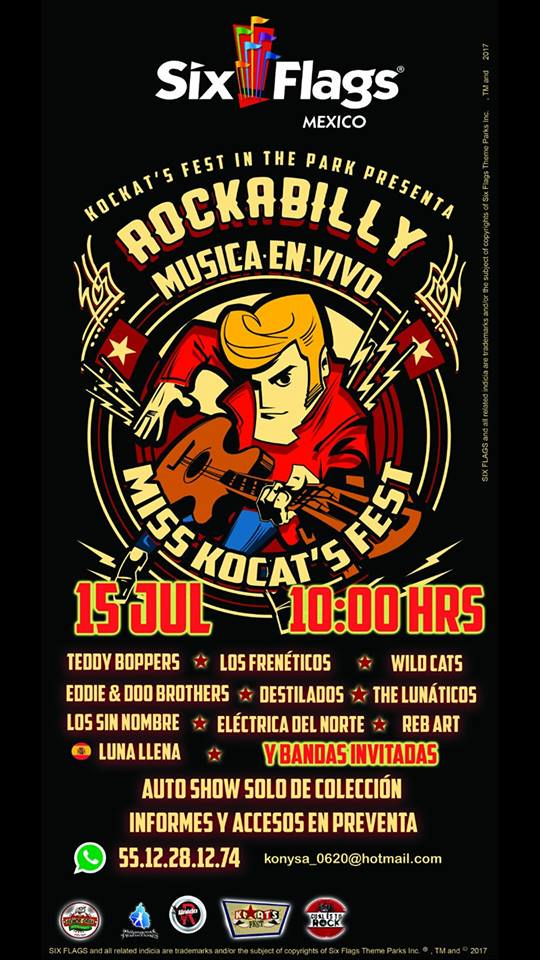 Cartel Sixflags Rockabilly